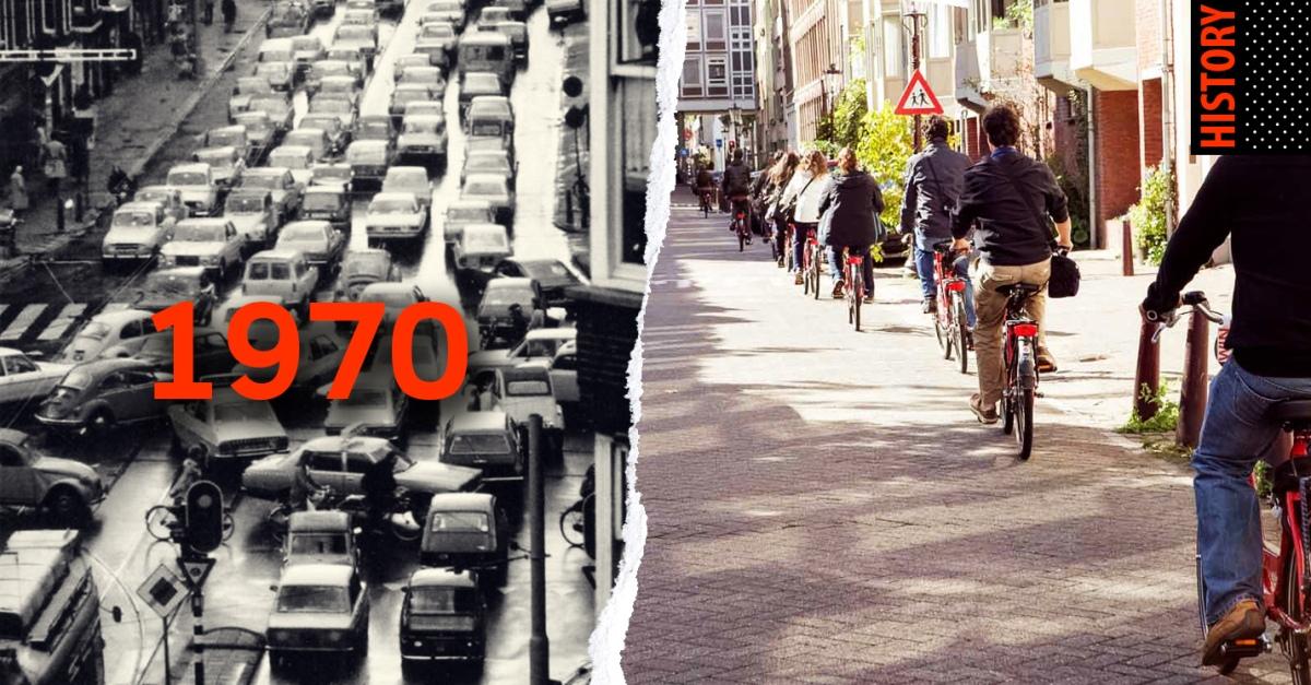 วัฒนธรรมการปั่นจักรยานของชาวฮอลแลนด์…เริ่มมาจากตอนไหน?