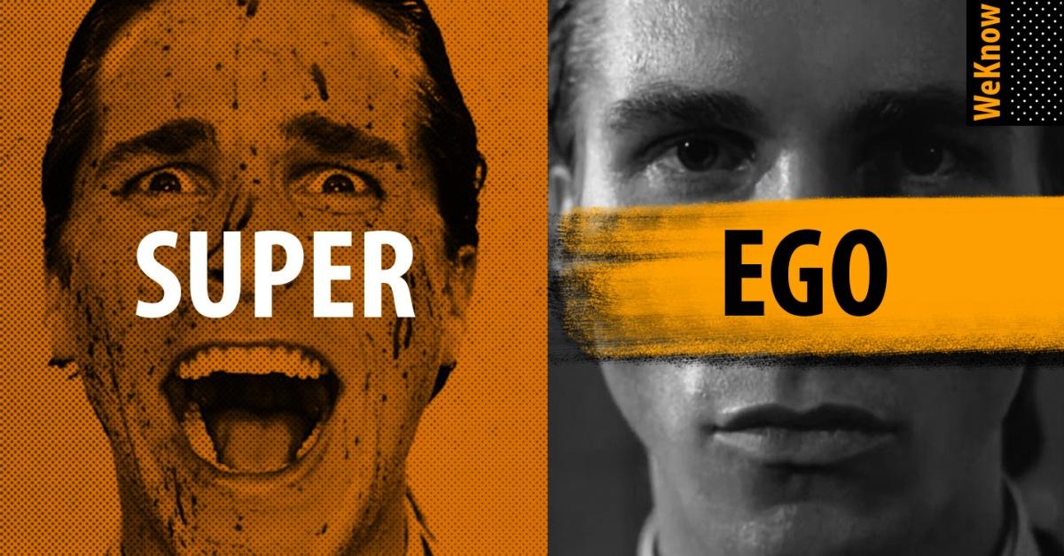 """ส่วนผสมของ """"อีโก้"""" [ Id / Ego / Superego]"""